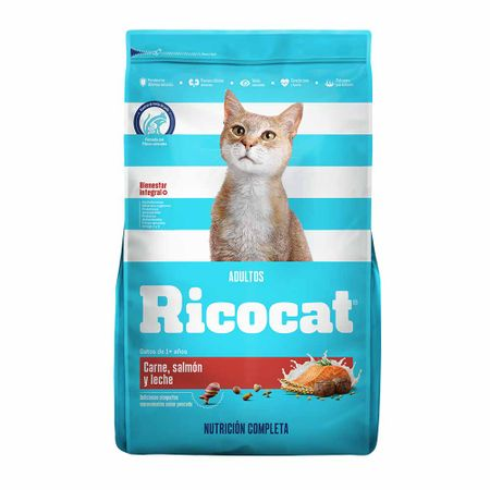comida-para-gatos-ricocat-carne-salmon-y-leche-bolsa-1kg