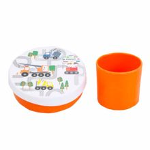 set-de-taper-de-melamina-viva-home-naranja-2-piezas