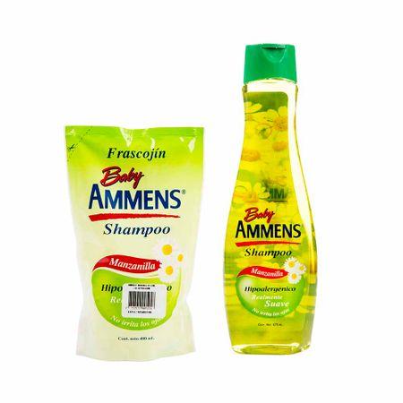 pack-shampoo-ammens-manzanilla-botella-675ml-doypack-400ml