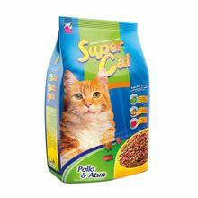 comida-para-gatos-supercat-sabor-pollo-y-atun-bolsa-500g