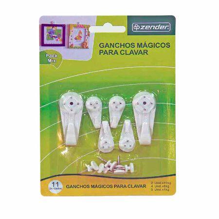 ganchos-zender-magicos-mixtos-blister-11un