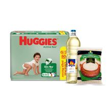 pack-panales-huggies-active-sec-talla-g-paquete-80un-aceite-vegetal-nicolini-botella-1l-arroz-extra-vallenorte-bolsa-750g