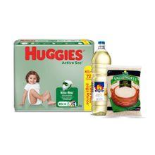 pack-panales-huggies-active-sec-talla-xg-paquete-72un-aceite-vegetal-nicolini-botella-1l-arroz-extra-vallenorte-bolsa-750g