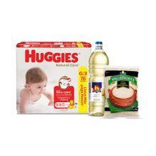 pack-panales-huggies-natural-care-puro-y-natural-talla-g-paquete-76un-aceite-vegetal-nicolini-botella-1l-arroz-extra-vallenorte