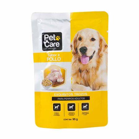 comida-para-perros-pet-care-adultos-sabor-a-pollo-pouche-95g