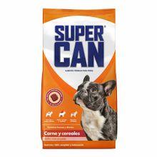 comida-para-perros-super-can-adultos-razas-pequeñas-carnes-y-cereales-bolsa-15kg