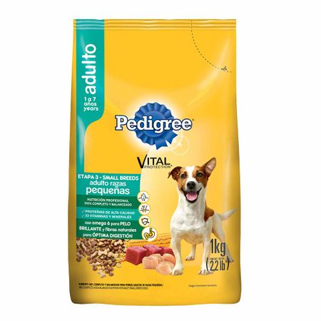 comida-para-perros-pedigree-vital-protection-adultos-razas-pequeñas-bolsa-1kg