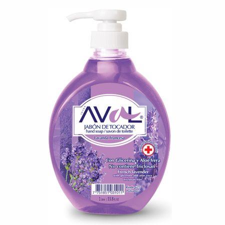jabon-liquido-aval-lavanda-botella-1l