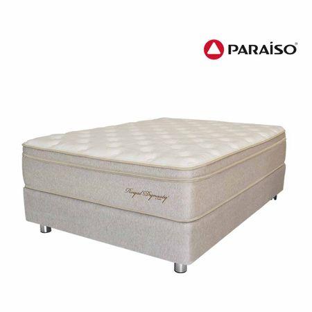 conjunto-box-tarima-paraiso-royal-dynasty-organic-1-5-plazas-1-almohada-viscoelasticas-protector