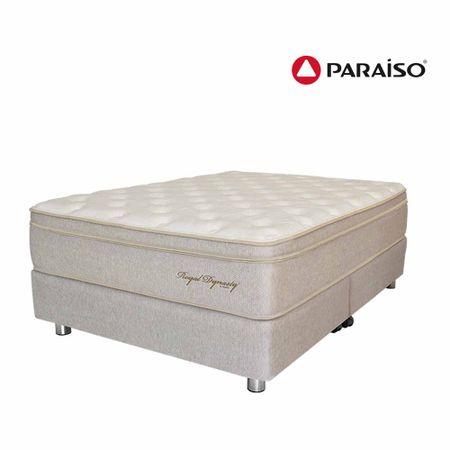 conjunto-box-tarima-paraiso-royal-dynasty-organic-king-2-almohadas-viscoelasticas-protector