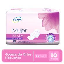 panal-tena-incontinencia-leve-mujer-mini-con-alas-paquete-10un