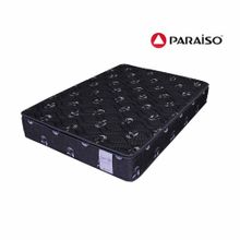 colchon-paraiso-superstar-one-side-negro-2-plazas-2-almohadas-protector