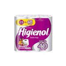 Papel Higiénico Higienol Mega Rollo Doble Hoja...