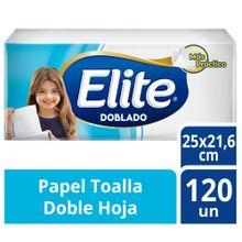 Papel Toalla Doblado Elite Doble Hoja Paquete ...