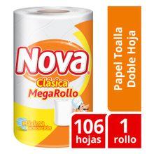 Papel Toalla Nova Clásico Mega Rollo 1Un