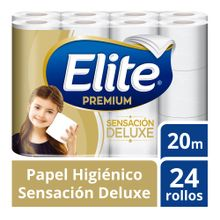 Papel Higiénico Elite Premium Triple Hoja Paqu...