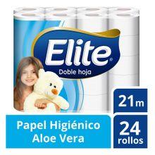Papel Higiénico Elite Doble Hoja Paquete 24Un
