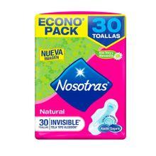 toalla-higienica-nosotras-natural-tela-invisible-paquete-30un