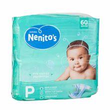 panales-para-bebe-nenitos-flexi-confort-talla-p-paquete-60un