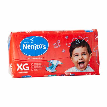 panales-para-bebe-nenitos-flexi-confort-talla-xg-paquete-36un