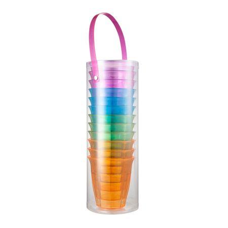 set-de-vasos-plasticos-viva-home-12-piezas