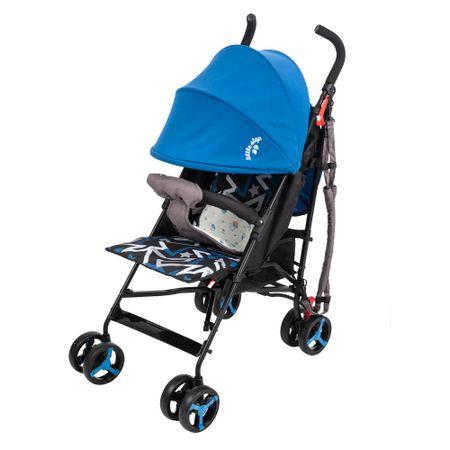coche-baston-little-step-premium-azul