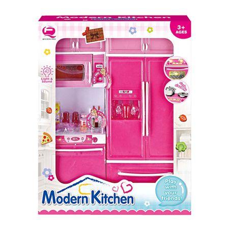 set-de-cocina-moderna-qun-feng-toys-10-piezas