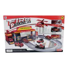 set-estacion-de-bomberos-armable-wei-ye