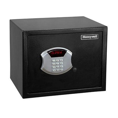 Caja fuerte digital con llave 20x31x20cm