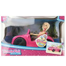 muñeca-bonnie-pink-beach-car