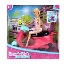 muñeca-bonnie-pink-maneja-motocicleta