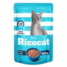 comida-para-gato-ricocat-trocitos-marinos-en-salsa-para-adultos-pouch-85g