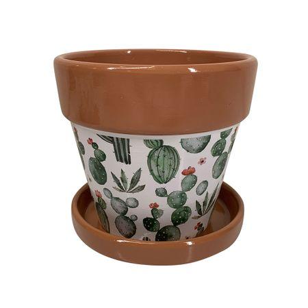 Maceta Cactus Verde Arenas