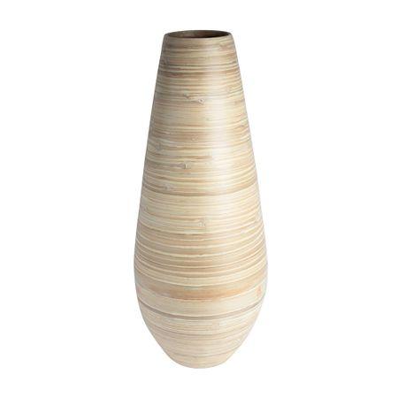 Jarrón bambú natural