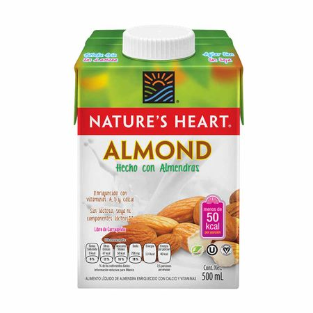 bebida-de-almendras-natures-heart-caja-500ml