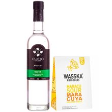 pack-pisco-cuatro-gallos-puro-italia-botella-700ml-sour-wasska-maracuya-caja-125g