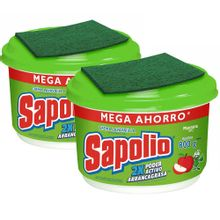 pack-lavavajillas-sapolio-manzana-pote-800g-2un