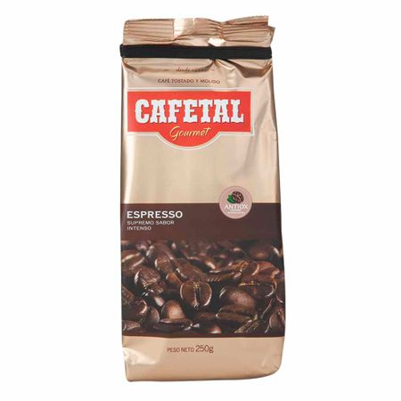 cafe-tostado-y-molido-cafetal-gourmet-espresso-bolsa-250g