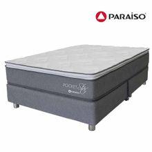 conjunto-box-tarima-paraiso-pocket-star-one-side-king-2-almohadas-1-almohada-viscoelastica-protector