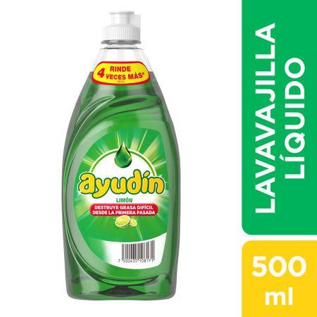 lavavajilla-ayudin-liquido-limon-frasco-500ml