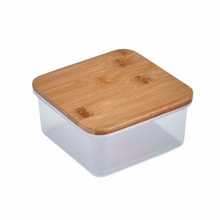 tapper-deco-home-hermetico-cuadrado-con-tapa-bamboo-320ml
