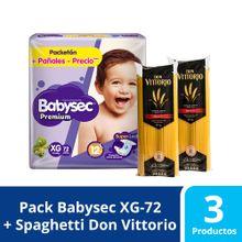 panales-para-bebe-babysec-premium-xg-paquete72un-spaghetti-don-vittorio-bolsa-1kg-x-2un