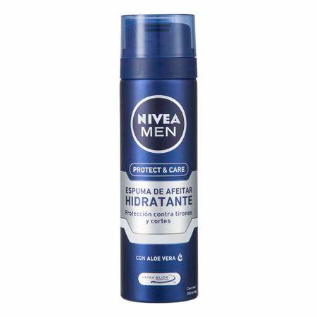 espuma-de-afeitar-nivea-men-protect-care-frasco-200ml