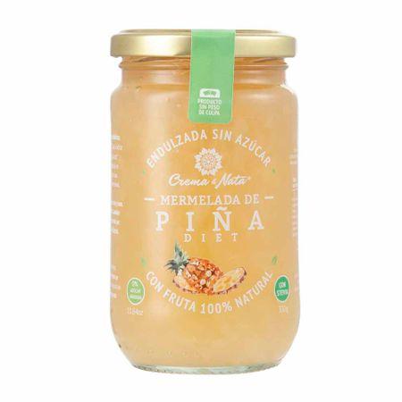 mermelada-crema-nata-diet-pina-frasco-330g