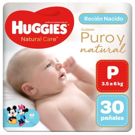 panales-para-bebe-huggies-natural-care-primeros-100-dias-talla-p-paquete-30un