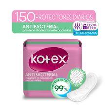protectores-diarios-kotex-antibacterial-paquete-150un