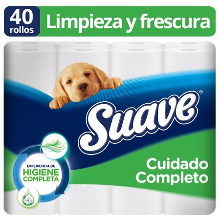 papel-higienico-suave-doble-hoja-cuidado-completo-paquete-40un