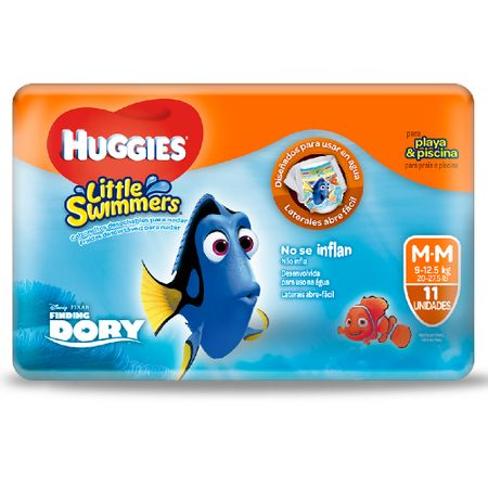 panal-para-bebe-huggies-little-swim-disney-talla-m-paquete-11un