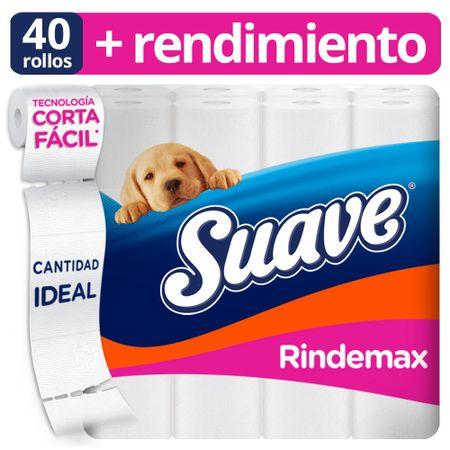 papel-higienico-suave-rindemax-doble-hoja-paquete-40un