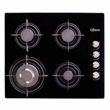 cocina-empotrable-klimatic-glassy-4-quemadores-negro
